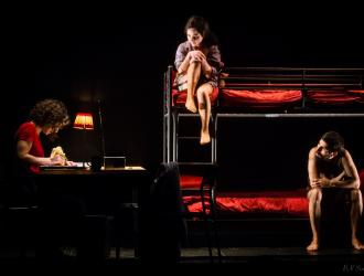le silence des chauves souris la grange aux belles anaïs allais théâtre contemporain théâtre paul scarron le mans théâtre de l'éphémère 2016 2017